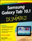 Samsung Galaxy Tab 10.1 For Dummies - eBook