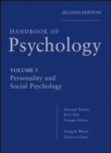 Handbook of Psychology, Personality and Social Psychology - eBook