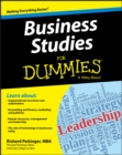 Business Studies For Dummies - Book