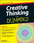 Creative Thinking For Dummies - Book