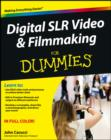 Digital SLR Video and Filmmaking For Dummies - eBook
