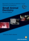 Blackwell's Five-Minute Veterinary Consult Clinical Companion : Small Animal Dentistry - eBook