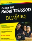 Canon EOS Rebel T4i/650D For Dummies - eBook