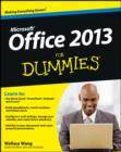 Office 2013 For Dummies - eBook