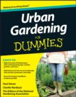 Urban Gardening For Dummies - eBook