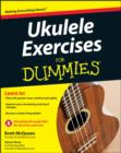 Ukulele Exercises For Dummies - Book