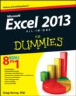 Excel 2013 All-in-One For Dummies - Book