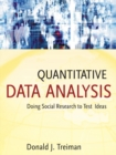 Quantitative Data Analysis : Doing Social Research to Test Ideas - eBook