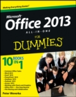 Office 2013 All-In-One For Dummies - Book