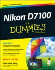 Nikon D7100 For Dummies - eBook