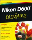 Nikon D600 For Dummies - eBook