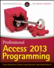 Professional Access 2013 Programming - Book