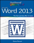 Teach Yourself VISUALLY Word 2013 - eBook