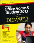 Microsoft Office Home and Student Edition 2013 All-in-One For Dummies - eBook