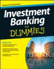 Investment Banking For Dummies - Book