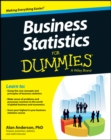 Business Statistics For Dummies - Book