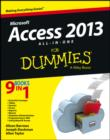 Access 2013 All-in-One For Dummies - eBook