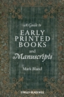 A Guide to Early Printed Books and Manuscripts - eBook