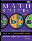 Math Starters : 5- to 10-Minute Activities Aligned with the Common Core Math Standards, Grades 6-12 - eBook