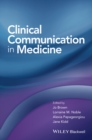 Clinical Communication in Medicine - Book