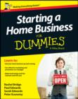 Starting a Home Business For Dummies - eBook