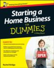 Starting a Home Business For Dummies - Book