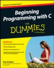 Beginning Programming with C For Dummies - eBook