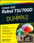 Canon EOS Rebel T5i/700D For Dummies - eBook