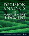 Decision Analysis for Management Judgment - Book