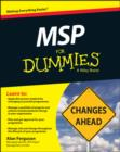 MSP For Dummies - Book