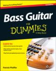 Bass Guitar For Dummies : Book + Online Video & Audio Instruction - Book