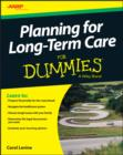 Planning For Long-Term Care For Dummies - eBook