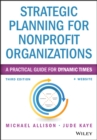 Strategic Planning for Nonprofit Organizations : A Practical Guide for Dynamic Times - eBook