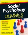 Social Psychology For Dummies - Book