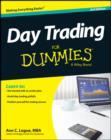 Day Trading For Dummies - eBook