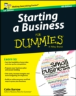 Starting a Business For Dummies - UK - Book