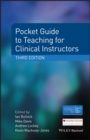 Pocket Guide to Teaching for Clinical Instructors - eBook