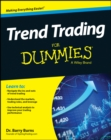 Trend Trading For Dummies - Book