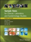 Sample Sizes for Clinical, Laboratory and Epidemiology Studies - eBook