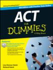 ACT For Dummies, with Online Practice Tests - Book