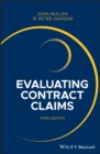 Evaluating Contract Claims - eBook