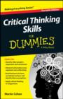 Critical Thinking Skills For Dummies - Book