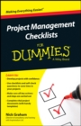 Project Management Checklists For Dummies - eBook