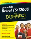 Canon EOS Rebel T5/1200D For Dummies - Book