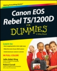 Canon EOS Rebel T5/1200D For Dummies - eBook