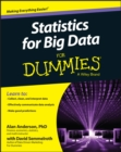 Statistics for Big Data For Dummies - Book