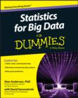 Statistics for Big Data For Dummies - eBook