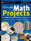 Hands-On Math Projects With Real-Life Applications : Grades 6-12 - eBook