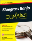 Bluegrass Banjo for Dummies - Book