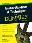 Guitar Rhythm and Techniques For Dummies : Book + Online Video and Audio Instruction - Book